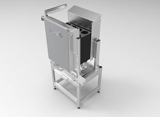 Smart Destacking: automated destacking of trays for pot plants