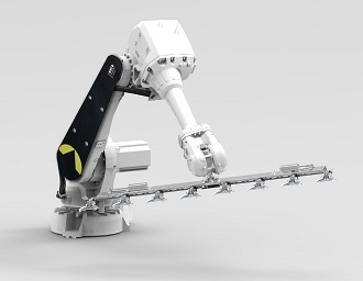 Smart Picking: multifunctional robot arm moves your plants